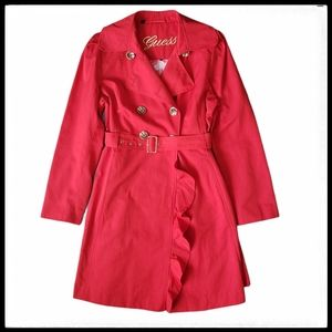 ⭐SALE⭐ Guess Double Breasted Belted Trench…